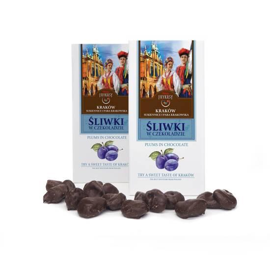 Kraków śliwka w czekoladzie
